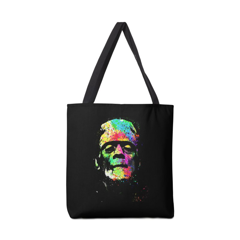 Dripping color frankenstein Accessories Bag by clingcling's Artist Shop