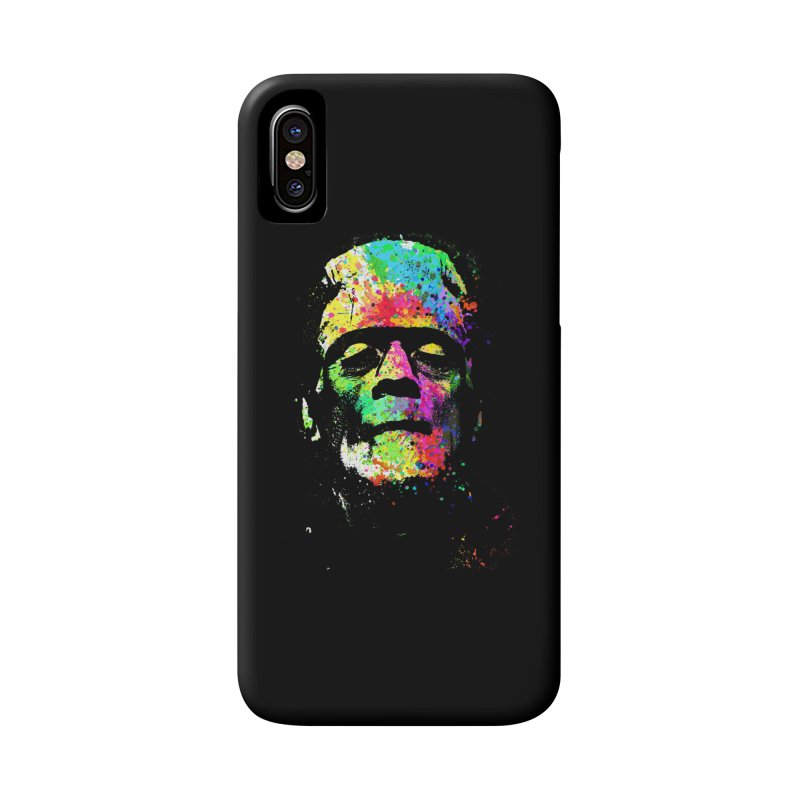 Dripping color frankenstein Accessories Phone Case by clingcling's Artist Shop