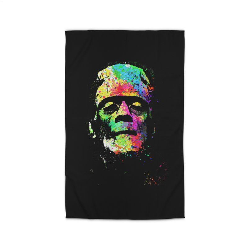 Dripping color frankenstein Home Rug by clingcling's Artist Shop