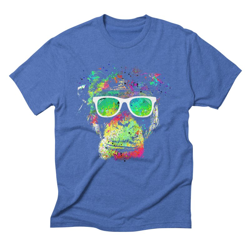 Dripping color monkey Men's  by clingcling's Artist Shop