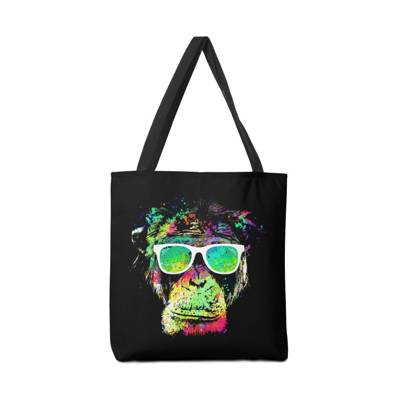 Dripping color monkey Accessories Bag by clingcling's Artist Shop