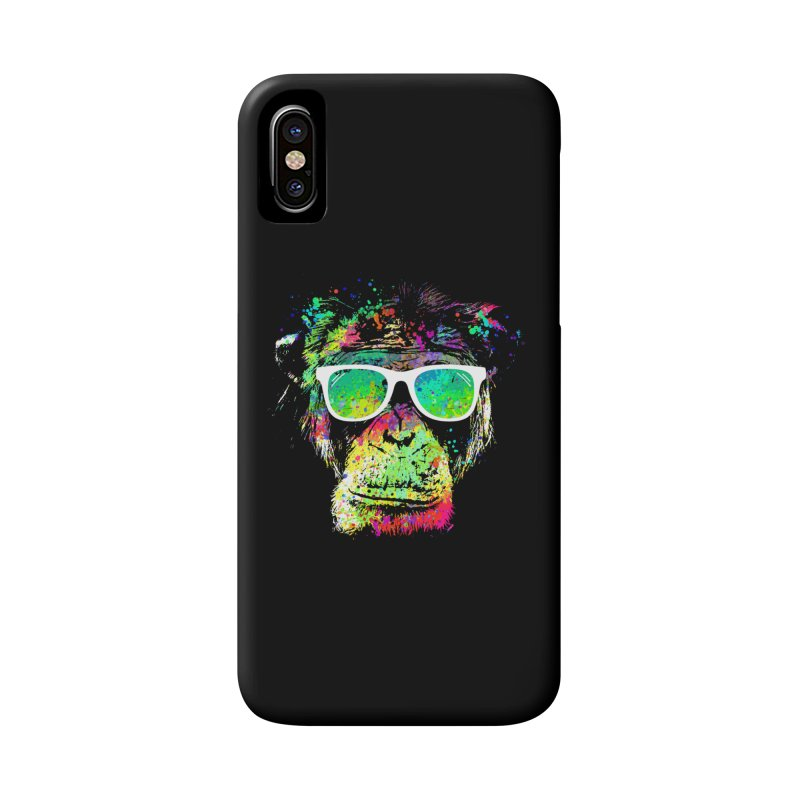 Dripping color monkey Accessories Phone Case by clingcling's Artist Shop