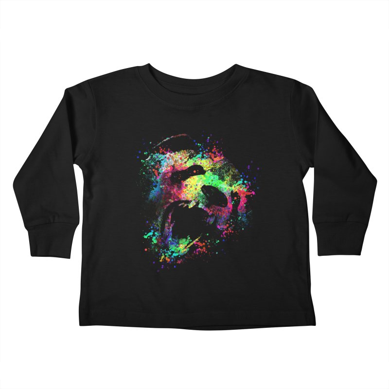 Dripping color panda Kids  by clingcling's Artist Shop