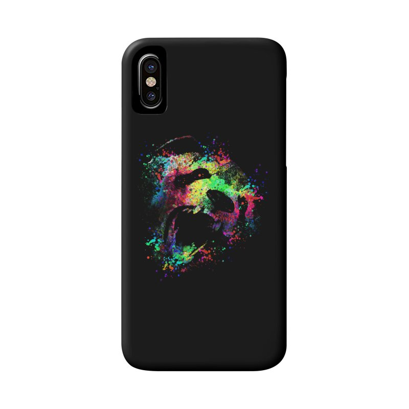 Dripping color panda Accessories Phone Case by clingcling's Artist Shop