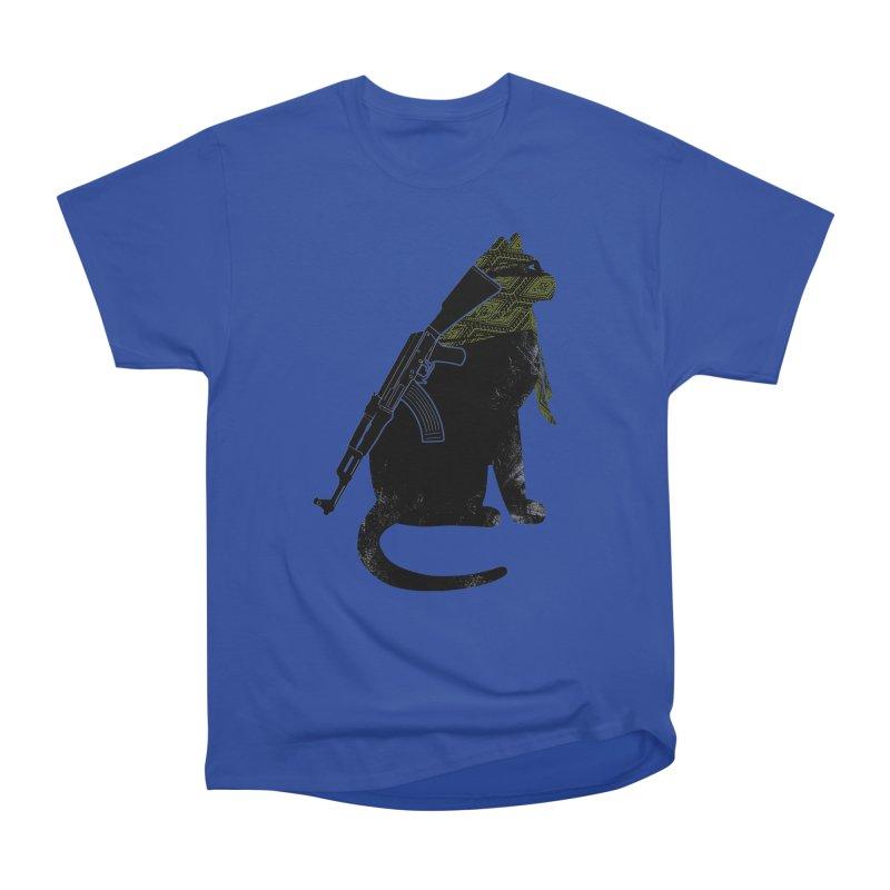 Terrorist Cat Men's Heavyweight T-Shirt by clingcling's Artist Shop