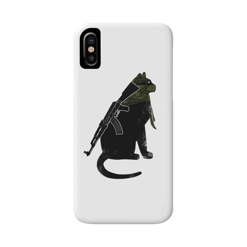 Terrorist Cat Accessories Phone Case by clingcling's Artist Shop