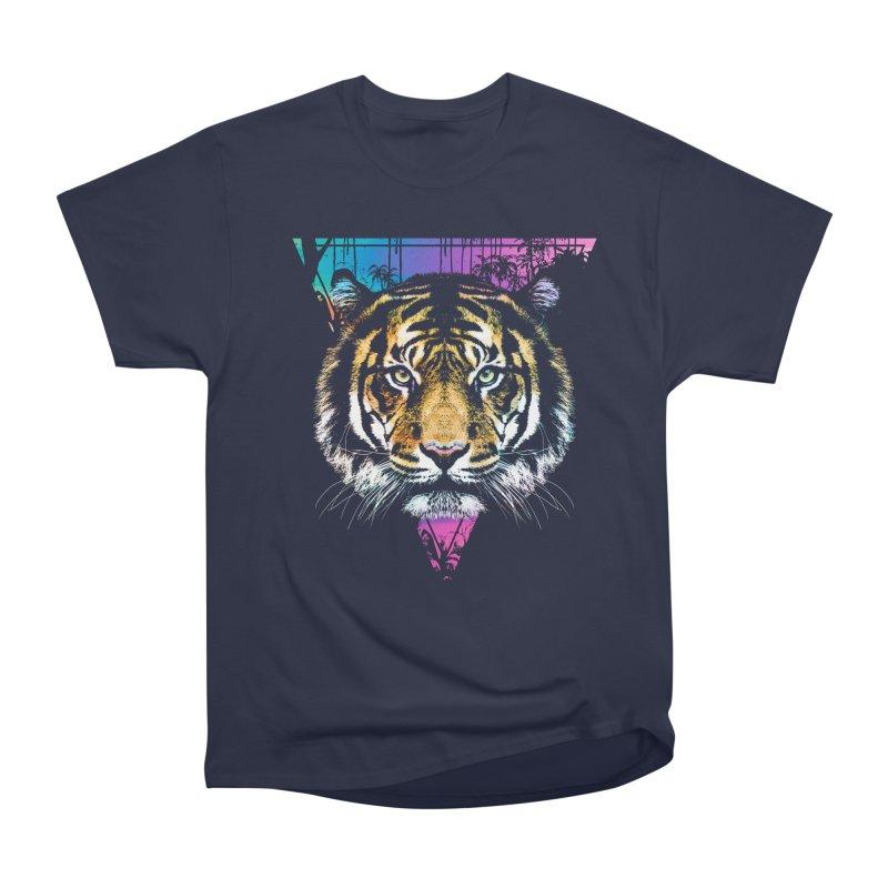 Tiger Men's Heavyweight T-Shirt by clingcling's Artist Shop