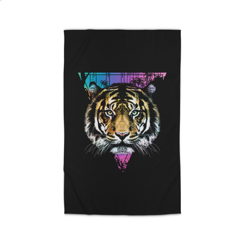 Tiger Home Rug by clingcling's Artist Shop