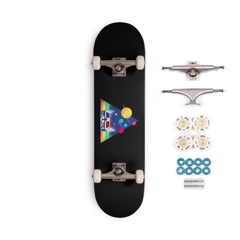 3D Cat Accessories Complete - Premium Skateboard by clingcling's Artist Shop