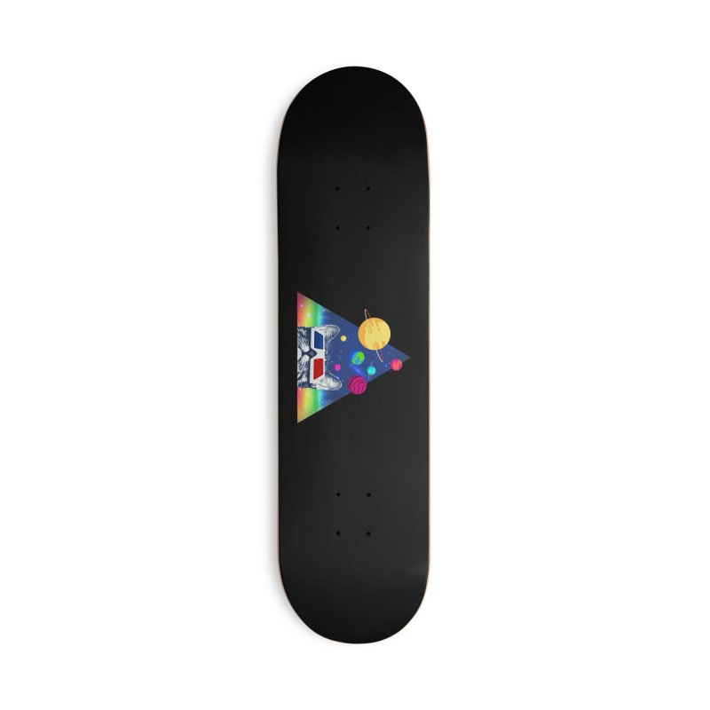 3D Cat Accessories Deck Only Skateboard by clingcling's Artist Shop