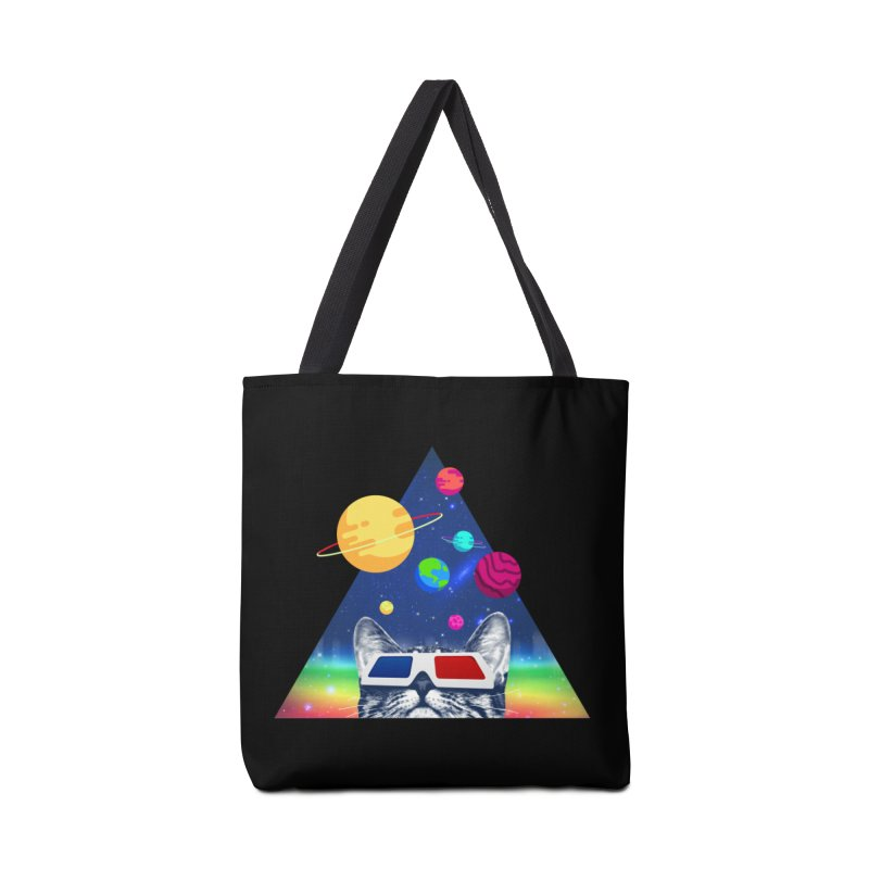 3D Cat Accessories Tote Bag Bag by clingcling's Artist Shop