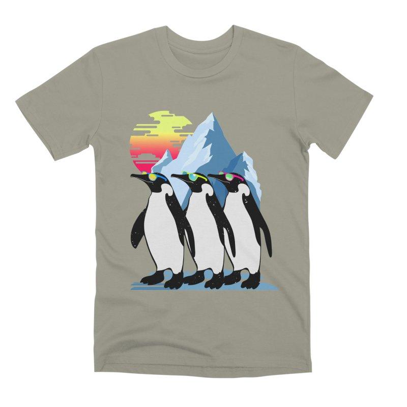 Cool Penguin Men's Premium T-Shirt by clingcling's Artist Shop