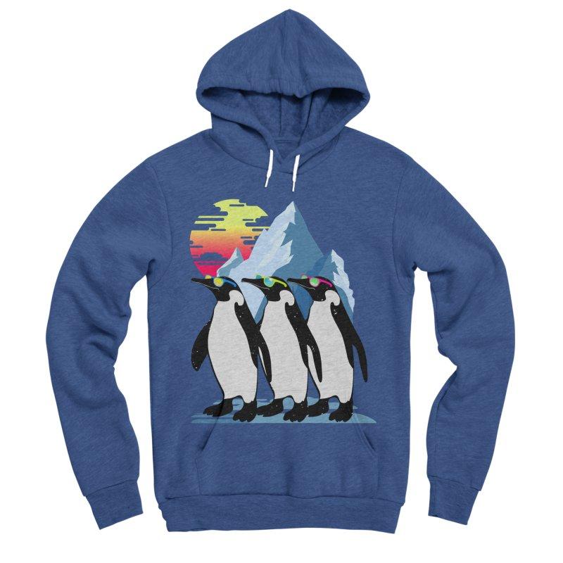Cool Penguin Women's Sponge Fleece Pullover Hoody by clingcling's Artist Shop