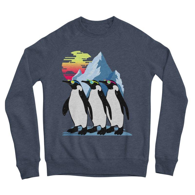 Cool Penguin Men's Sponge Fleece Sweatshirt by clingcling's Artist Shop