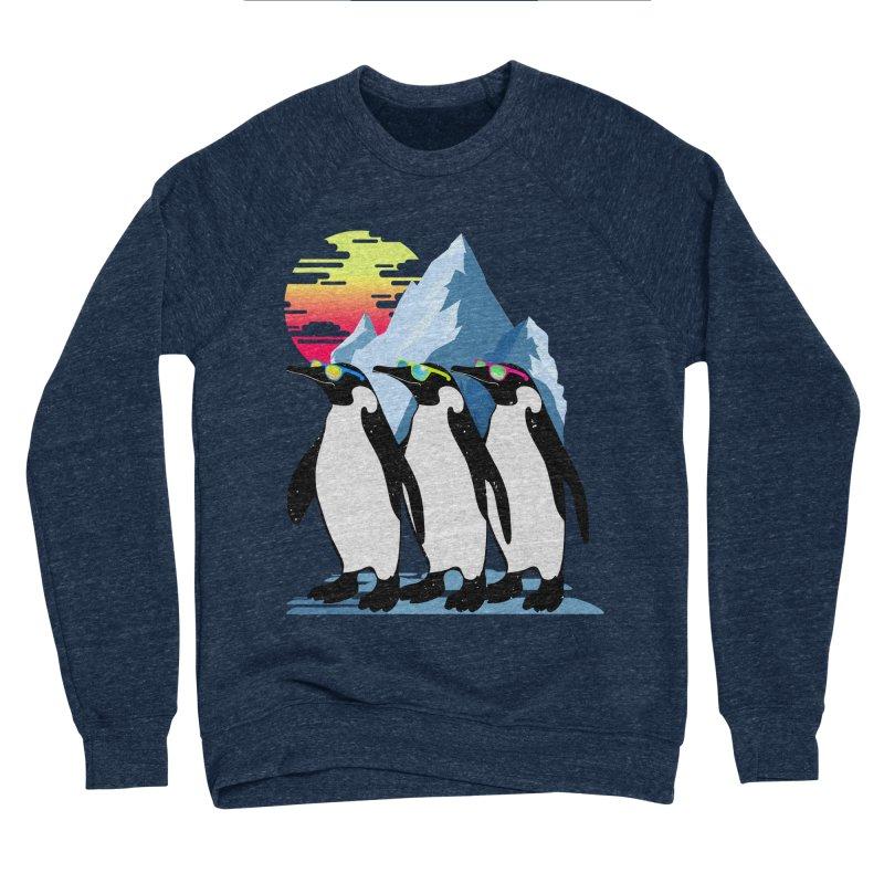 Cool Penguin Women's Sponge Fleece Sweatshirt by clingcling's Artist Shop