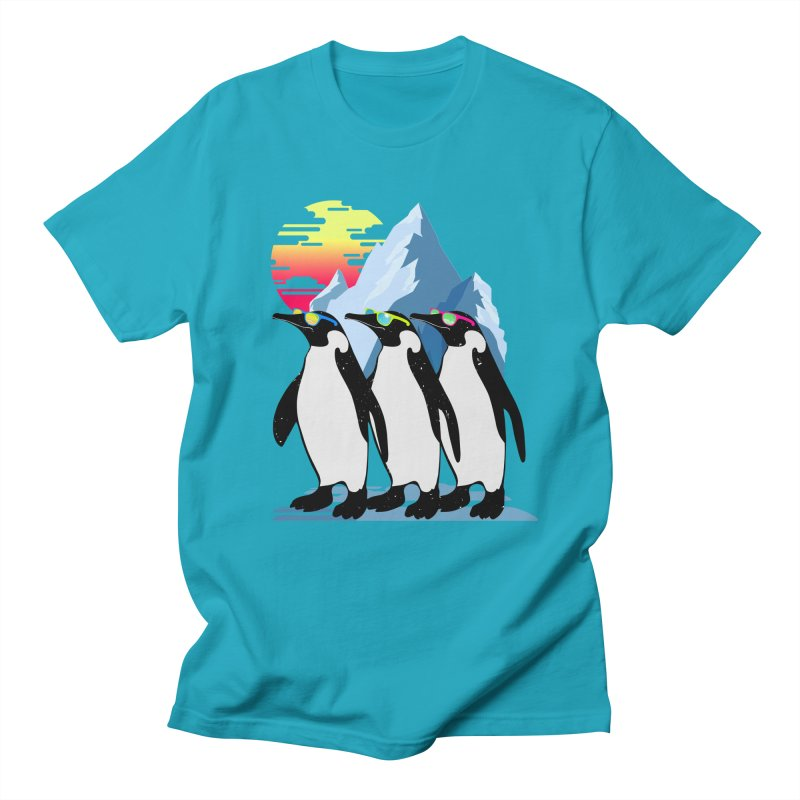 Cool Penguin Women's Regular Unisex T-Shirt by clingcling's Artist Shop