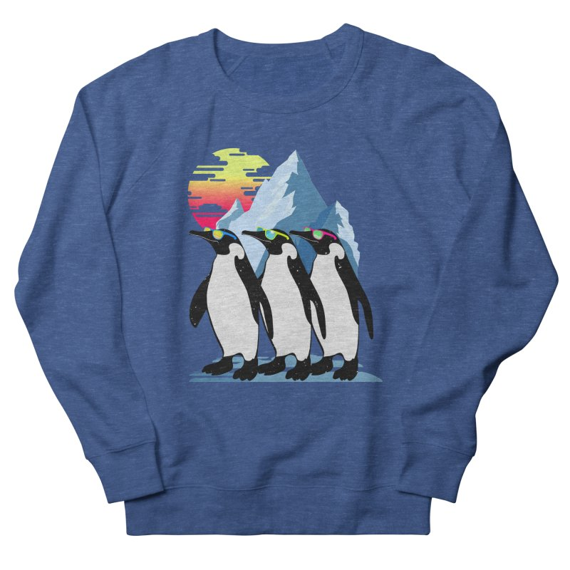 Cool Penguin Men's French Terry Sweatshirt by clingcling's Artist Shop