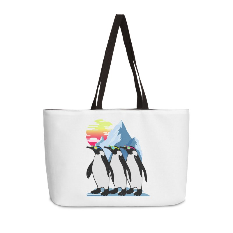 Cool Penguin Accessories Weekender Bag Bag by clingcling's Artist Shop