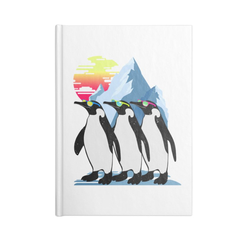 Cool Penguin Accessories Lined Journal Notebook by clingcling's Artist Shop