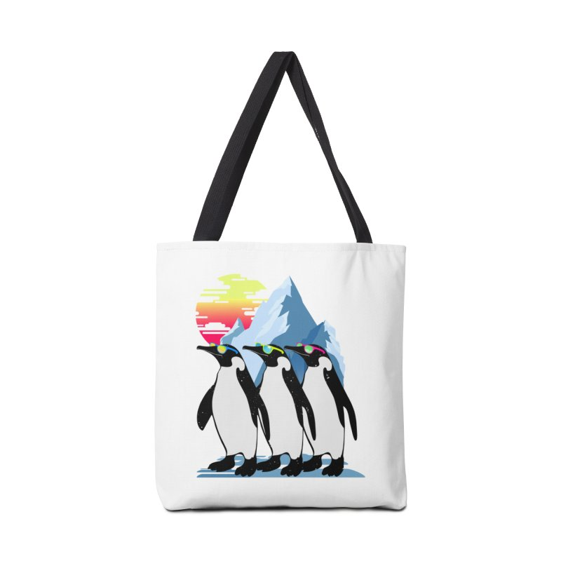 Cool Penguin Accessories Tote Bag Bag by clingcling's Artist Shop