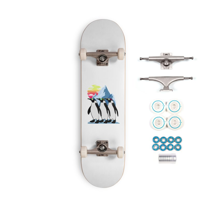 Cool Penguin Accessories Complete - Basic Skateboard by clingcling's Artist Shop