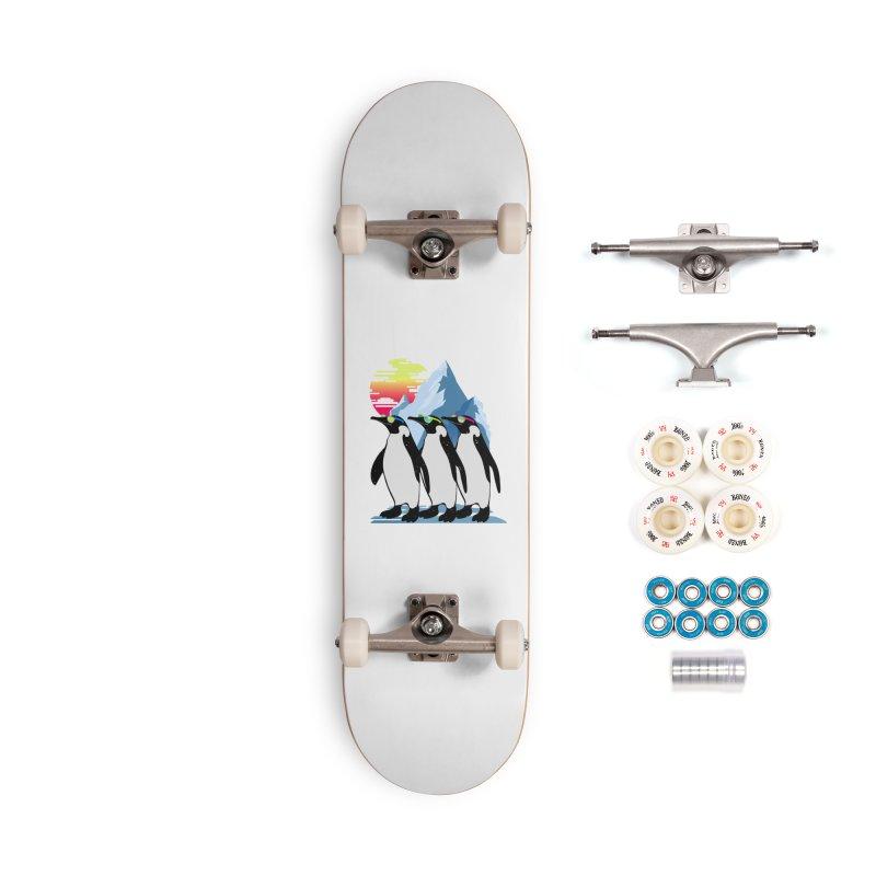 Cool Penguin Accessories Complete - Premium Skateboard by clingcling's Artist Shop