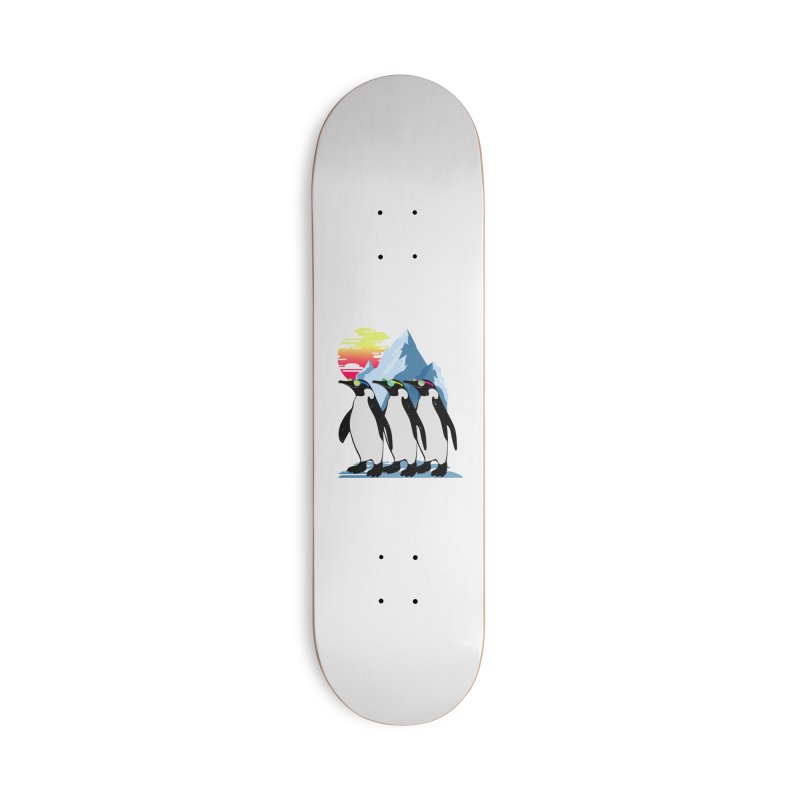Cool Penguin Accessories Deck Only Skateboard by clingcling's Artist Shop