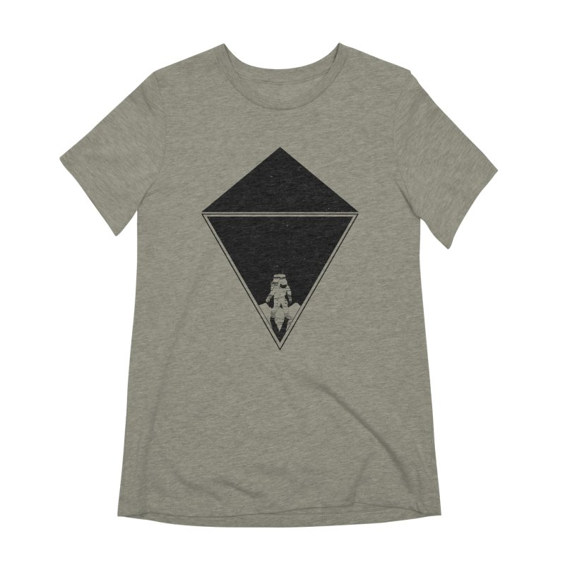 Empty Space Women's Extra Soft T-Shirt by clingcling's Artist Shop