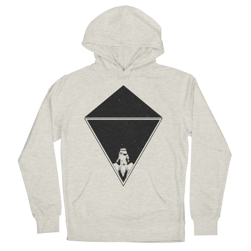Empty Space Men's French Terry Pullover Hoody by clingcling's Artist Shop