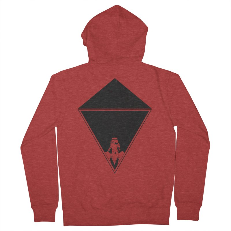 Empty Space Men's French Terry Zip-Up Hoody by clingcling's Artist Shop