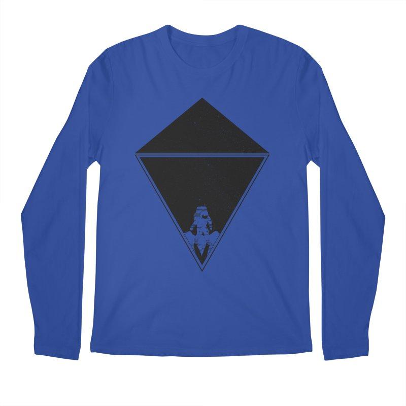 Empty Space Men's Regular Longsleeve T-Shirt by clingcling's Artist Shop