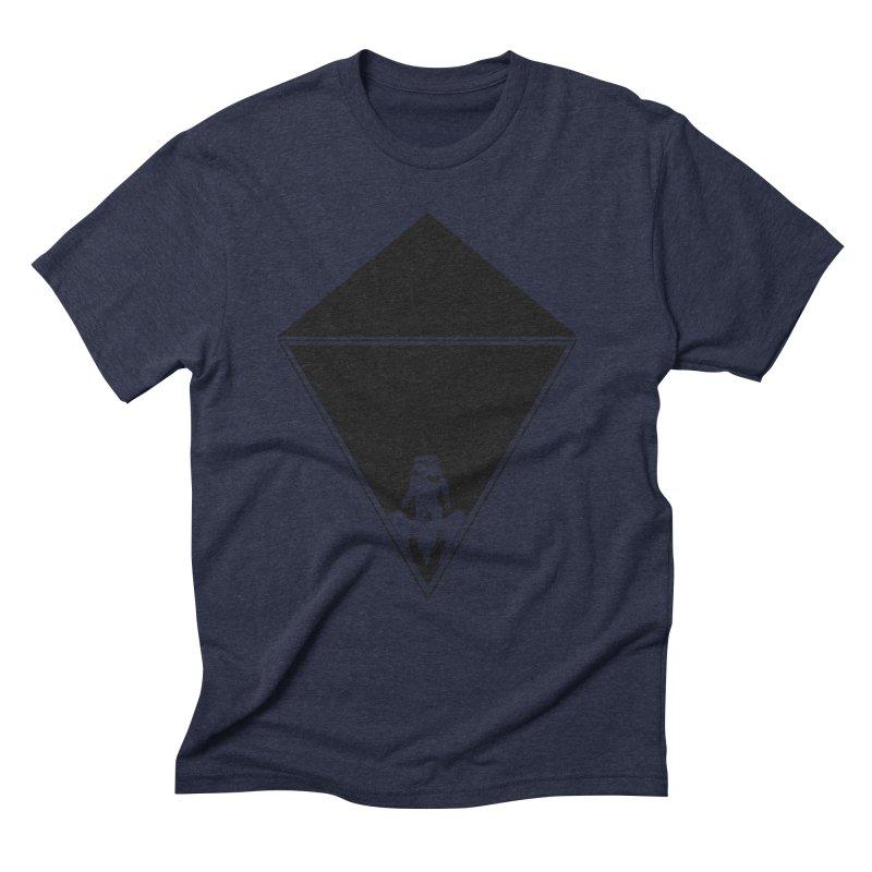 Empty Space Men's Triblend T-Shirt by clingcling's Artist Shop