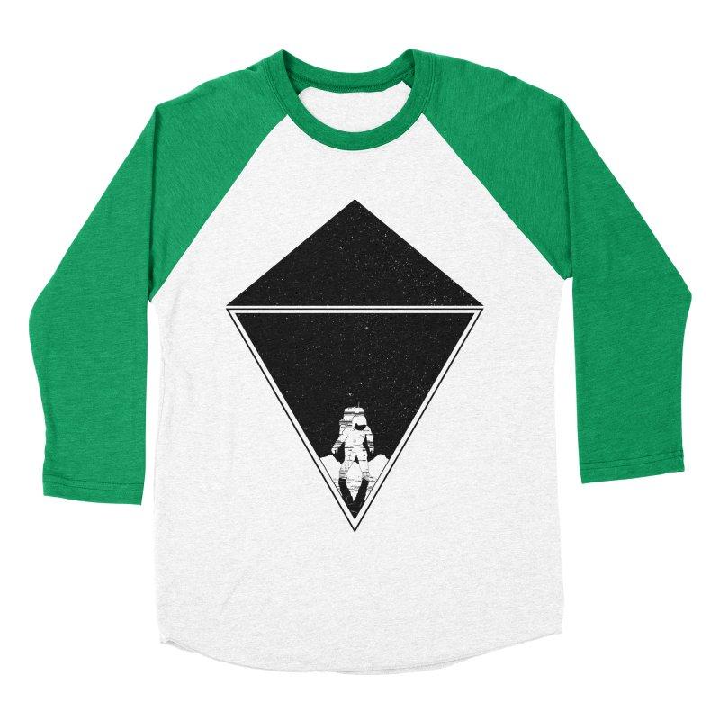 Empty Space Women's Baseball Triblend Longsleeve T-Shirt by clingcling's Artist Shop