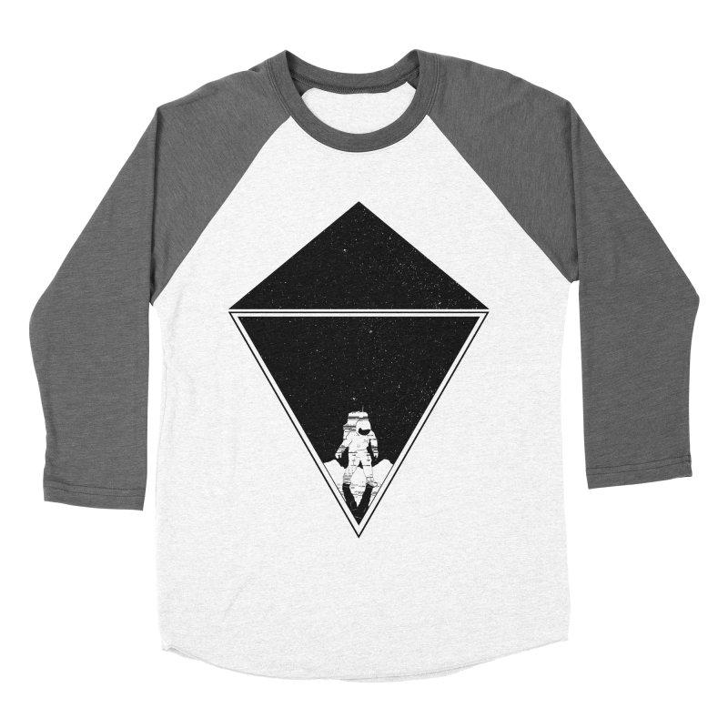 Empty Space Men's Baseball Triblend Longsleeve T-Shirt by clingcling's Artist Shop