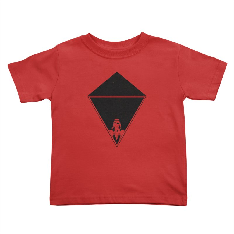 Empty Space Kids Toddler T-Shirt by clingcling's Artist Shop