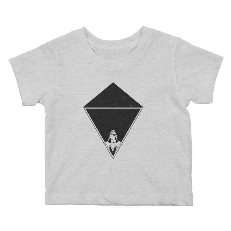 Empty Space Kids Baby T-Shirt by clingcling's Artist Shop