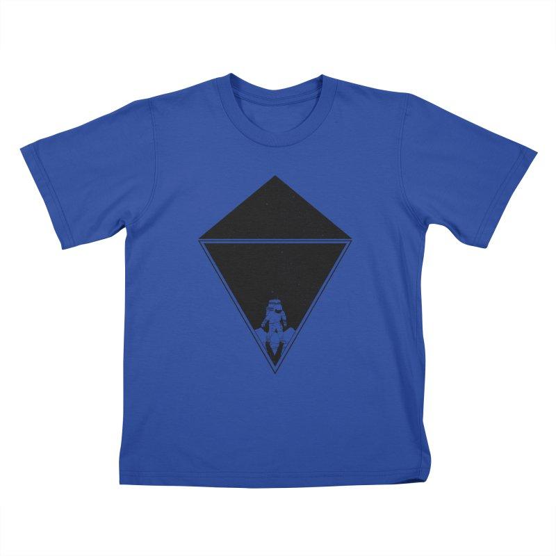 Empty Space Kids T-Shirt by clingcling's Artist Shop