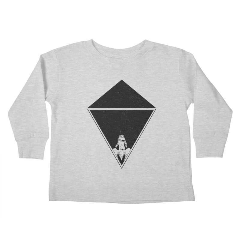 Empty Space Kids Toddler Longsleeve T-Shirt by clingcling's Artist Shop