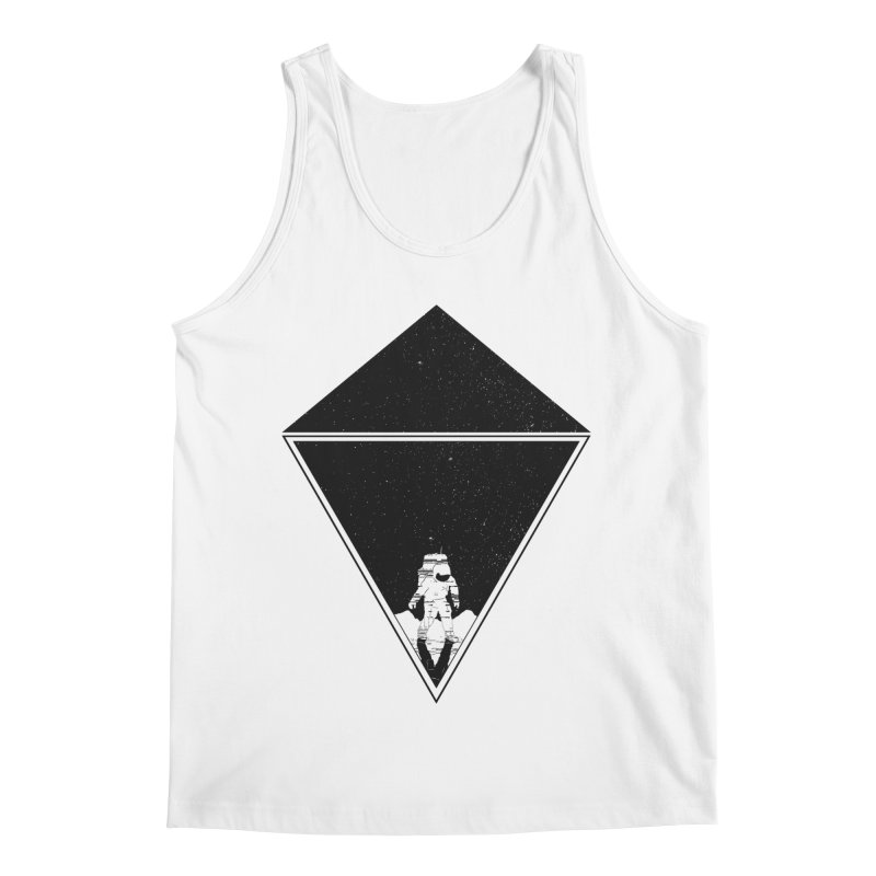 Empty Space Men's Regular Tank by clingcling's Artist Shop