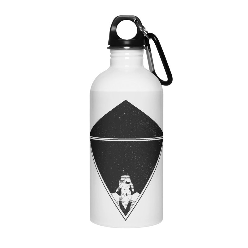 Empty Space Accessories Water Bottle by clingcling's Artist Shop
