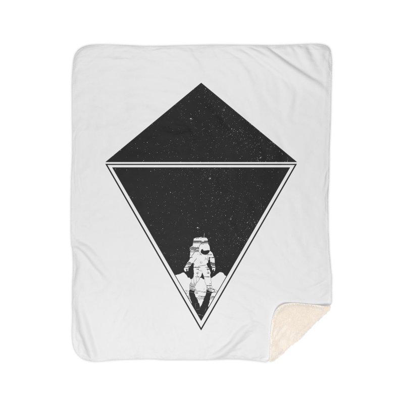 Empty Space Home Sherpa Blanket Blanket by clingcling's Artist Shop