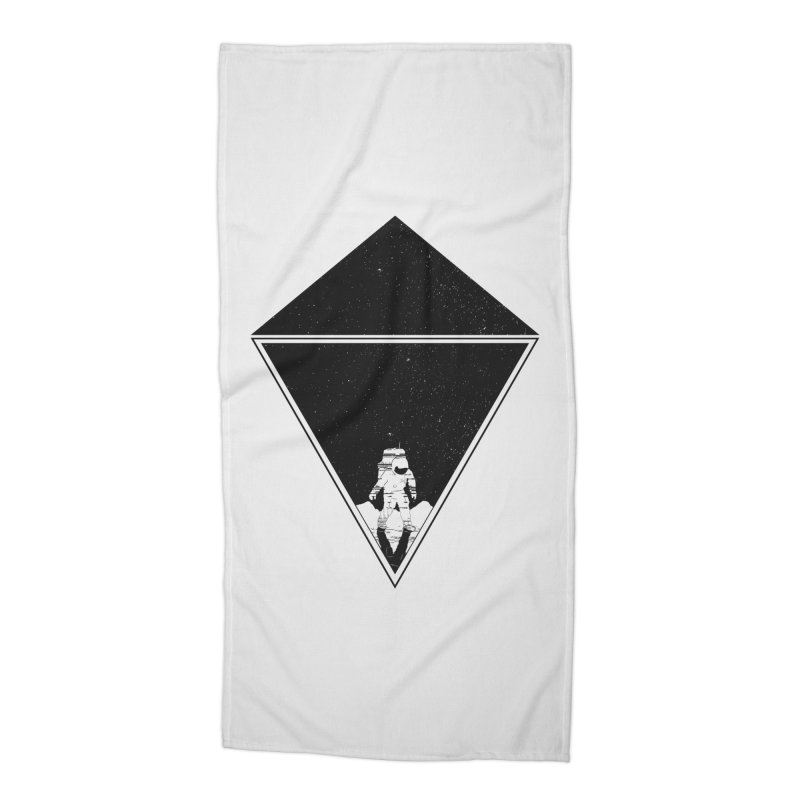 Empty Space Accessories Beach Towel by clingcling's Artist Shop