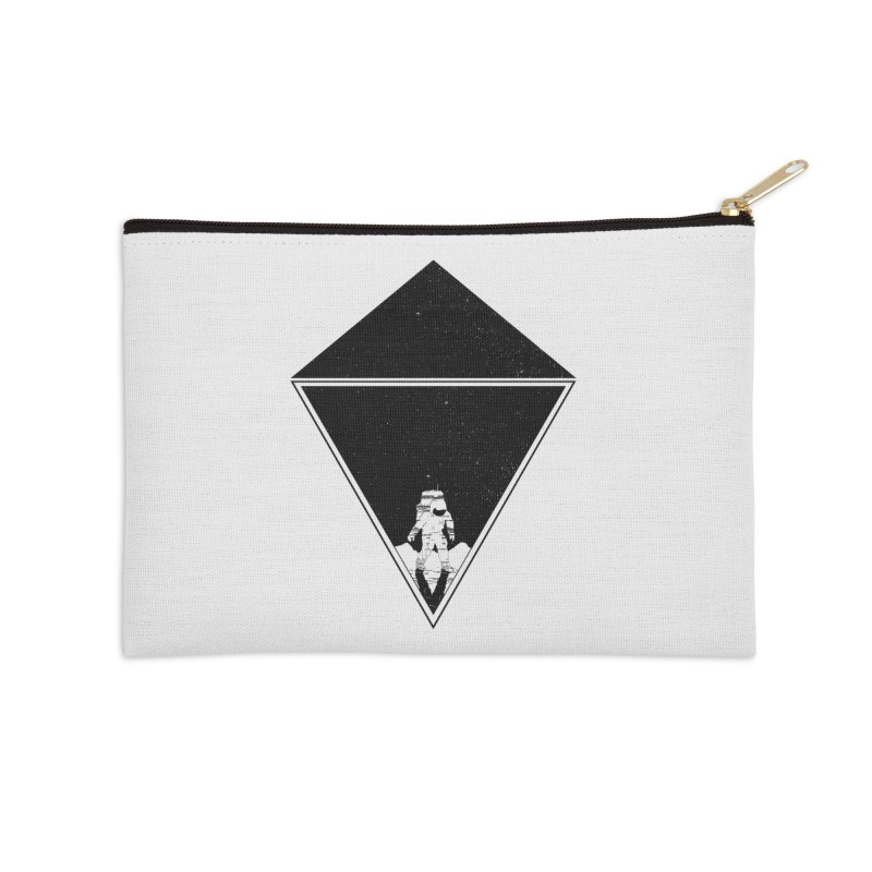 Empty Space Accessories Zip Pouch by clingcling's Artist Shop