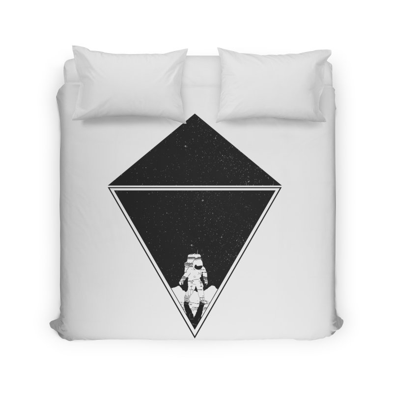 Empty Space Home Duvet by clingcling's Artist Shop