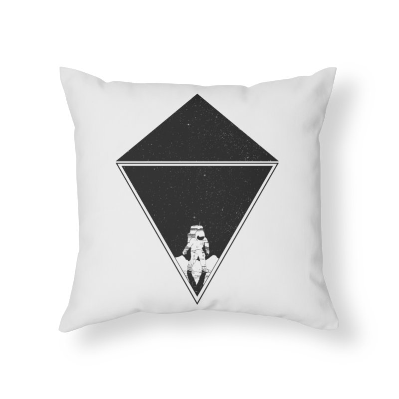 Empty Space Home Throw Pillow by clingcling's Artist Shop