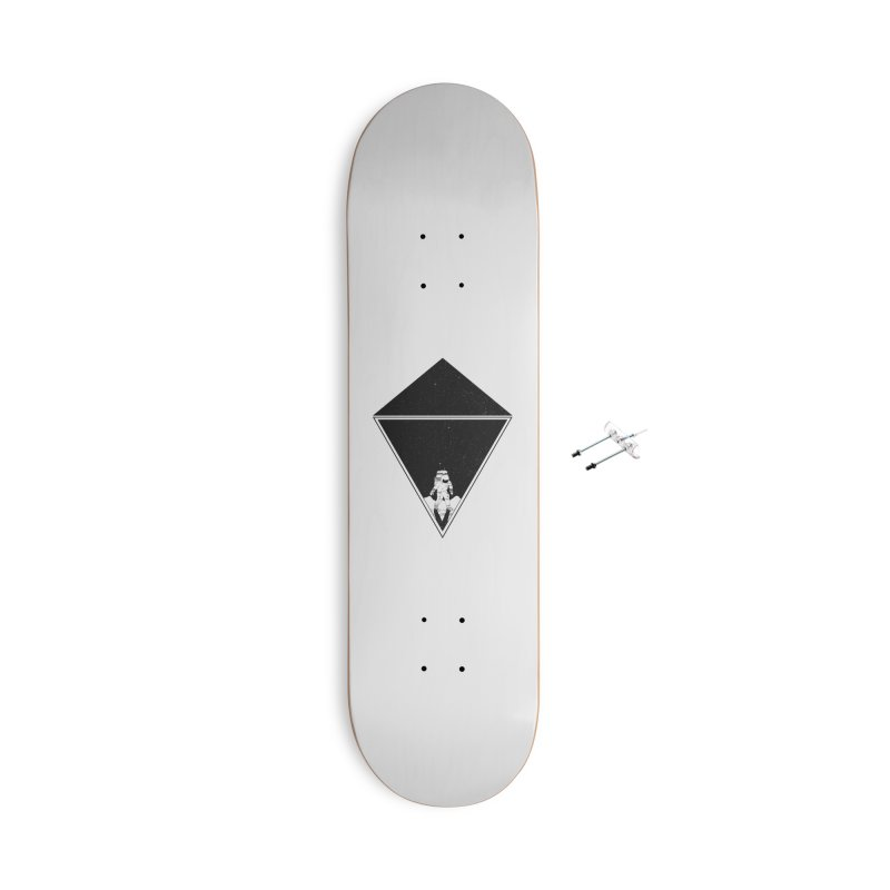 Empty Space Accessories With Hanging Hardware Skateboard by clingcling's Artist Shop