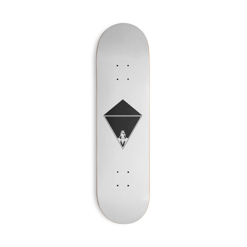 Empty Space Accessories Deck Only Skateboard by clingcling's Artist Shop