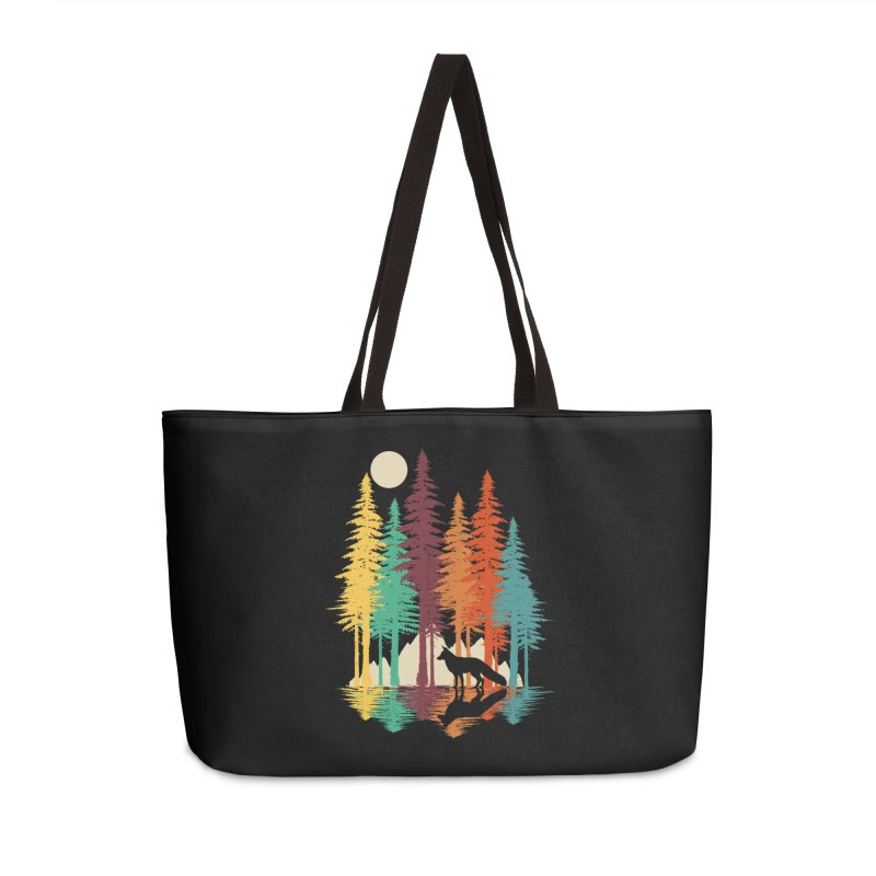 Forest Fox Accessories Weekender Bag Bag by clingcling's Artist Shop