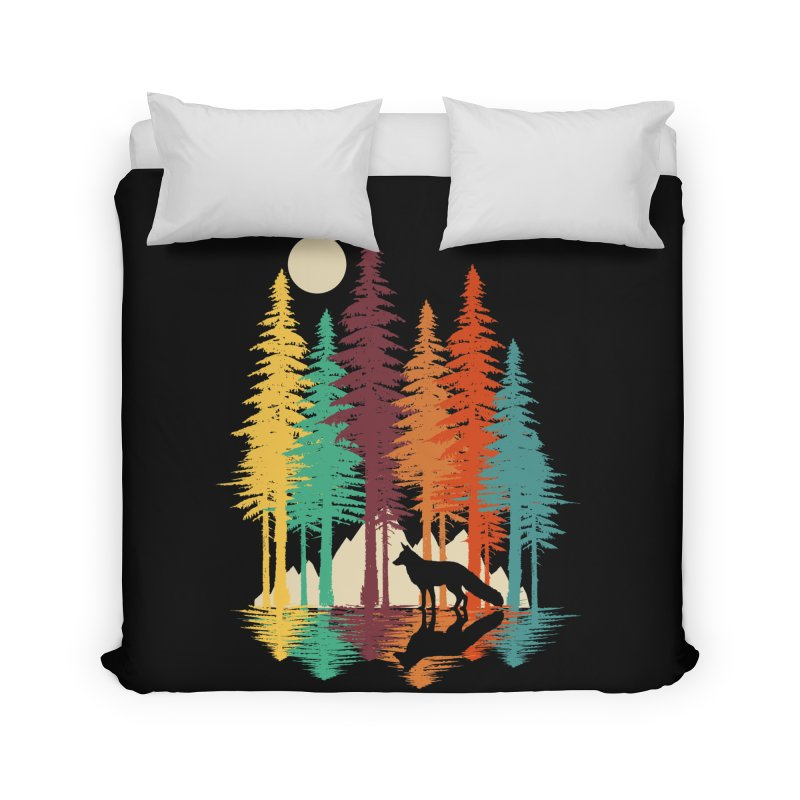 Forest Fox Home Duvet by clingcling's Artist Shop