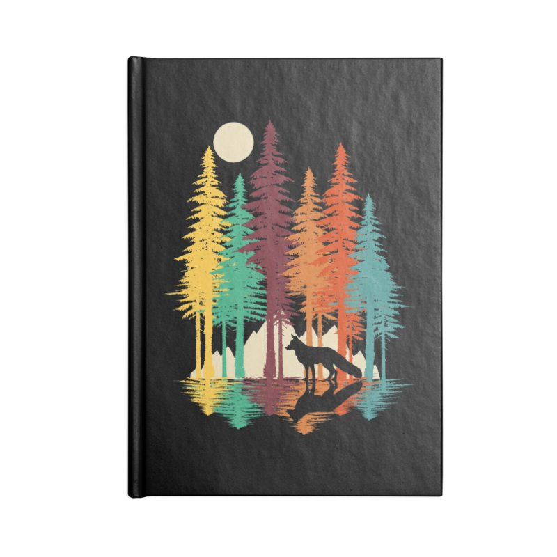 Forest Fox Accessories Blank Journal Notebook by clingcling's Artist Shop